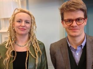 Emma Ricci och Per Grankvist