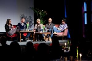 Zeljko Tucak, APL; Lisa Åhlén, GLOBALscandinavia; Jonas Svennberg, Zenit och processledare Philip Diab