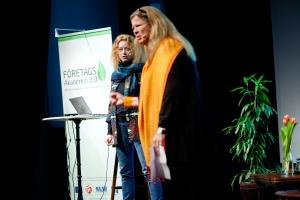 Christina Östergren och Josefin Lassbo från Juteborg